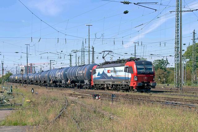SBB Cargo 193 466 Basel Badischer Bahnhof