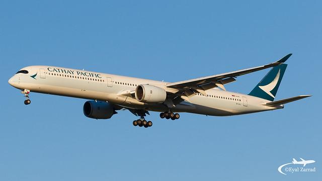 TLV - Cathay Pacific Airbus A350-1000 B-LXJ
