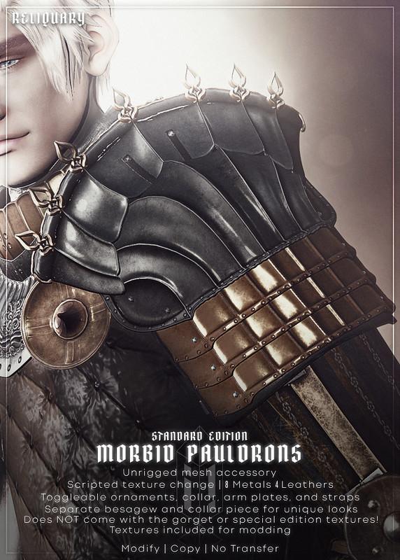 !R! Morbid Pauldrons CELEBRATING PRIME PUNK @ !RELIQUARY! MAY 13TH 2021