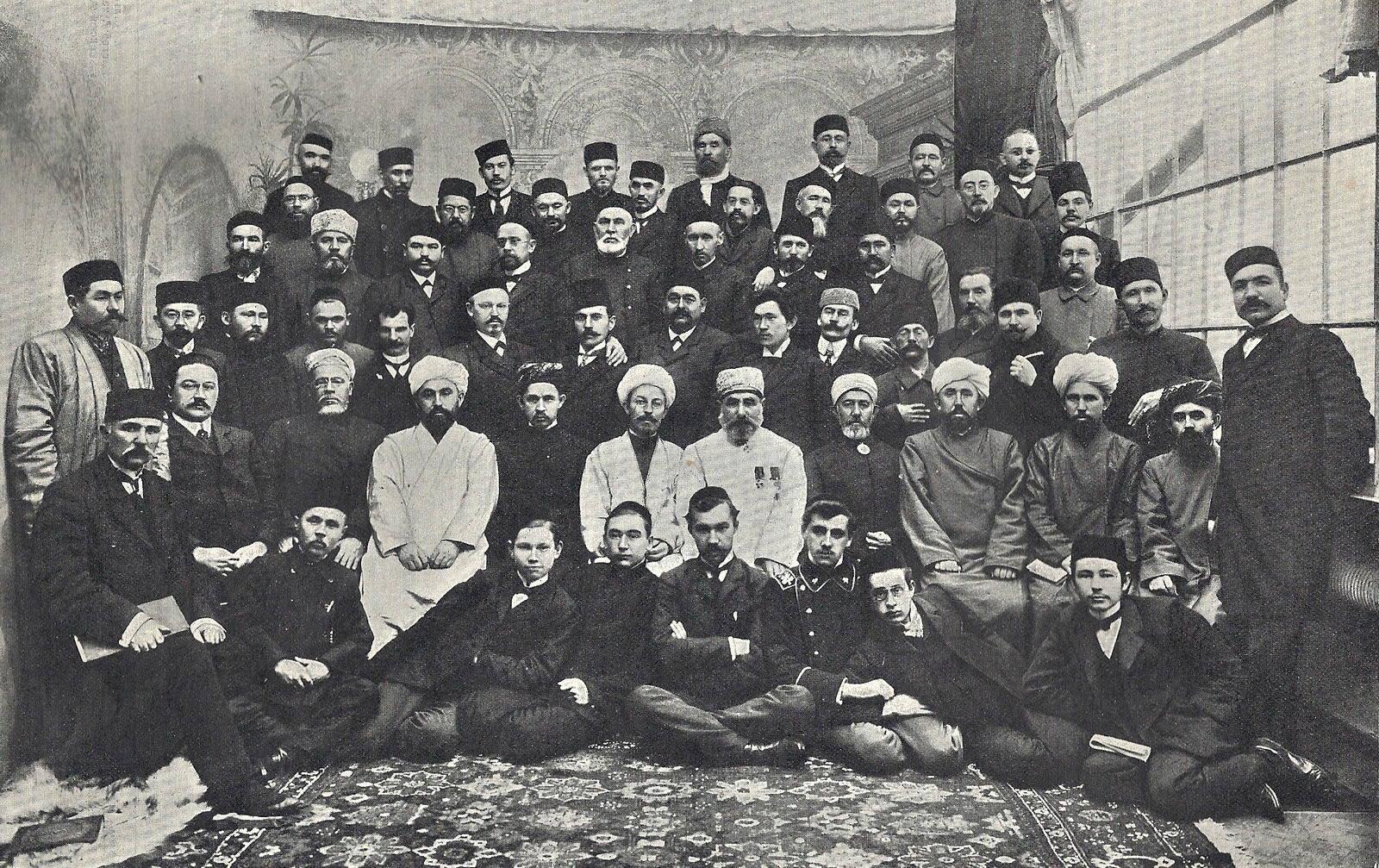 1906. Мусульманский съезд в Санкт-Петербурге