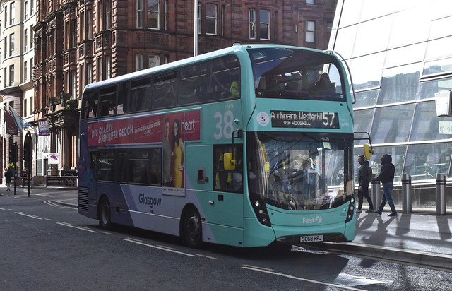 First Glasgow Alexander Dennis Enviro 400 MMC 34365