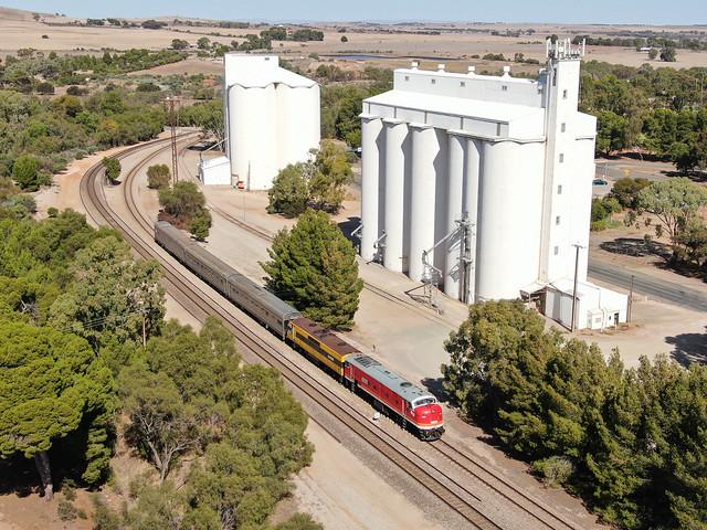 Gladstone's old silos