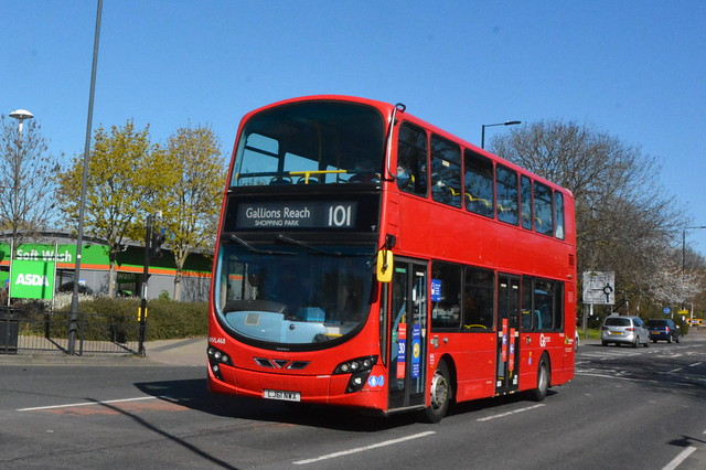LJ61 NWX (WVL468) Go-Ahead London