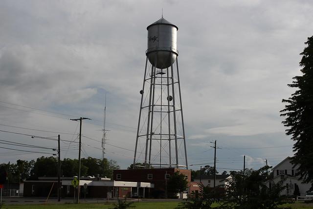 Water Tower, Liberty, NC