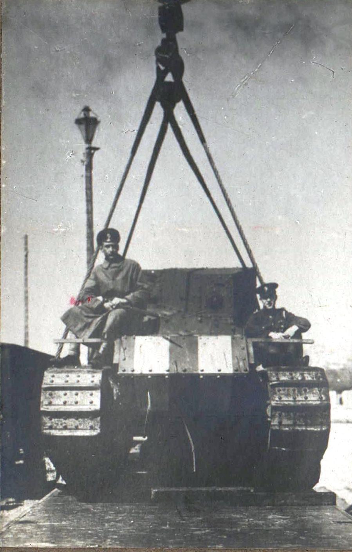 321. Выгрузка танка
