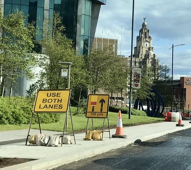 Use both lanes