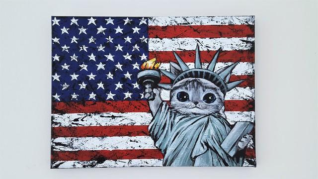 Fluffy American Citizen