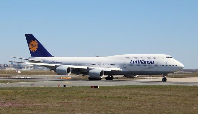 Lufthansa, D-ABYG,MSN 37831,Boeing 747-830, 26.04.2021, FRA-EDDF, Frankfurt