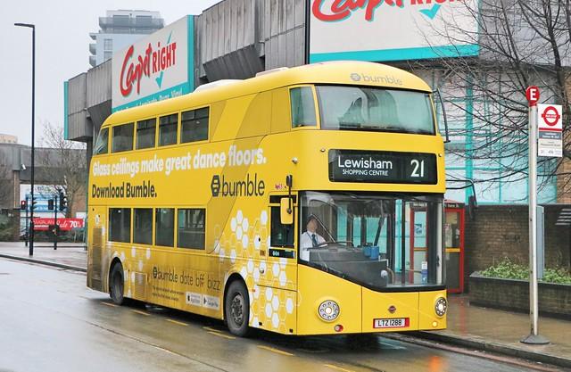 Go Ahead London Central - LT288 - LTZ1288 - Bumble