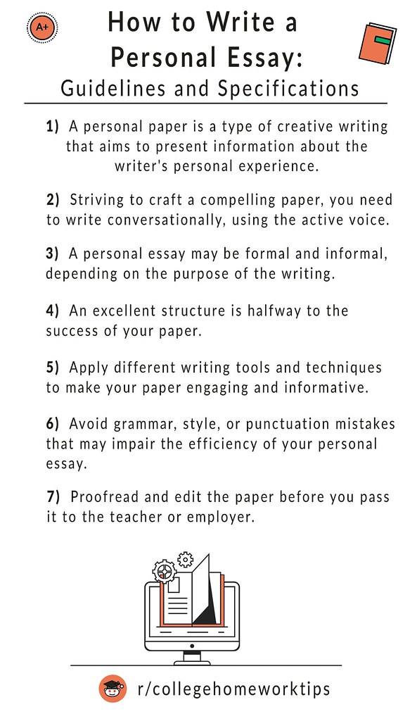 tips on write a personal essay