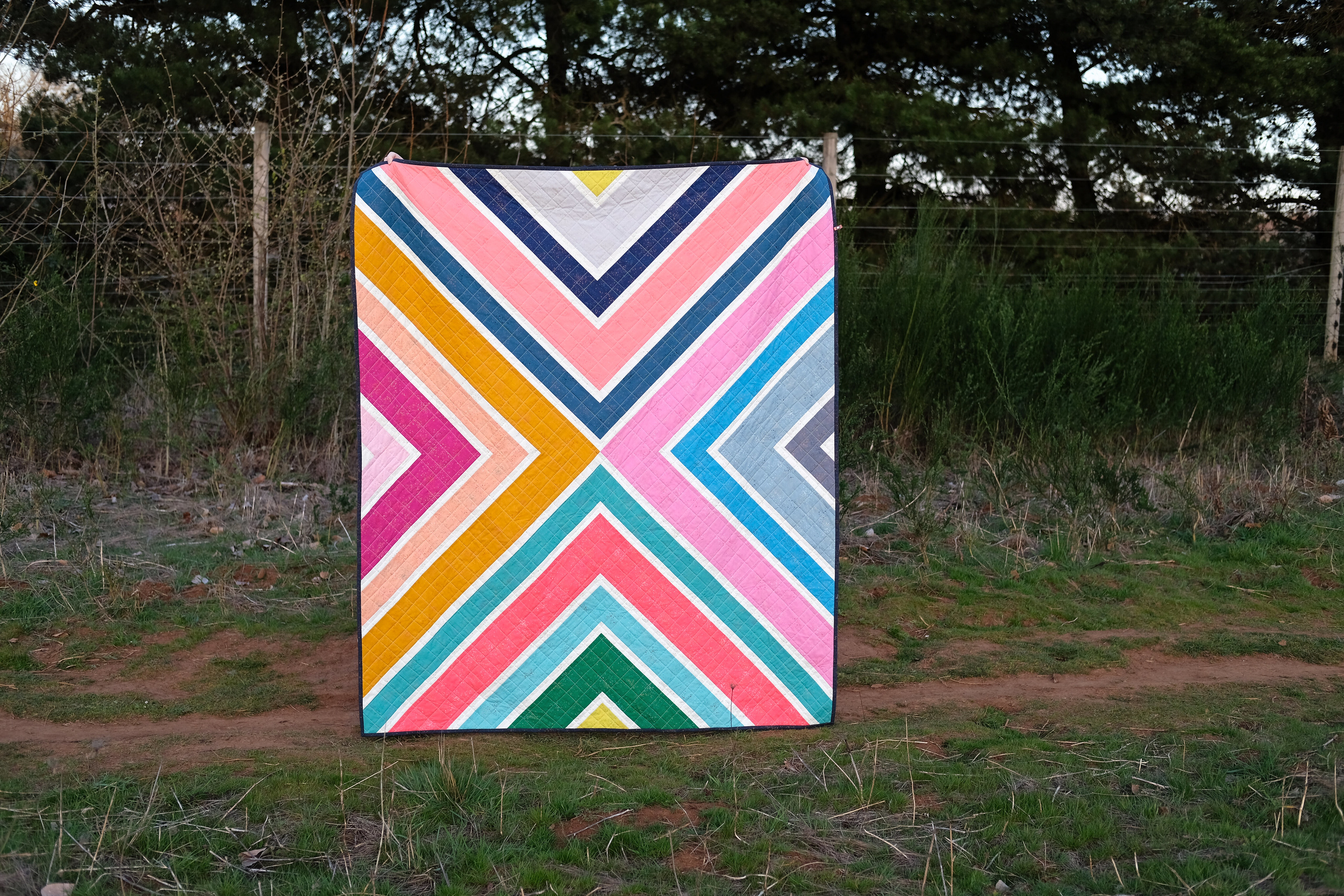 A Speckled Sylvie Quilt - Kitchen Table Quilting