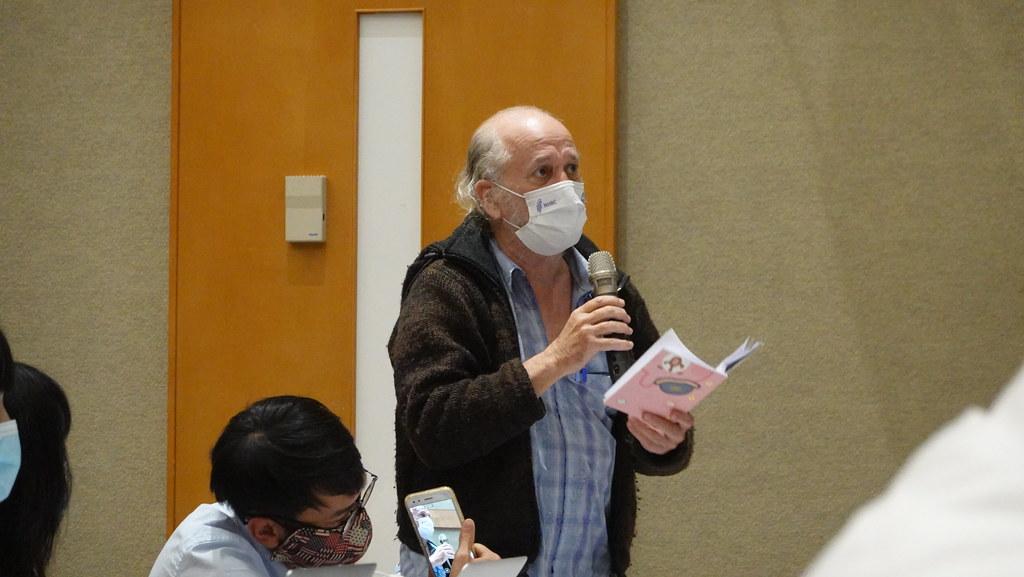 前環評委員、蠻野心足生態協會理事文魯彬建議,引入離岸風電外商產業技術的同時,也應引入生態保護技術。孫文臨攝