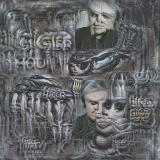 DeepDaze - H R Giger
