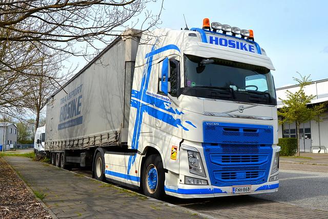 FIN - Volvo FH4 Globetrotter - Transport Hosike