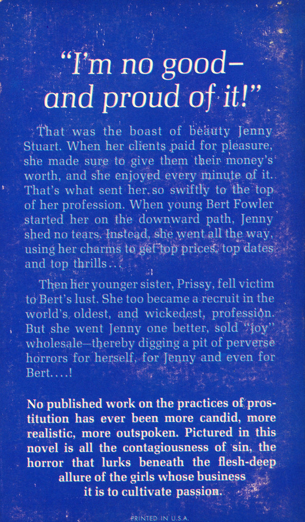 Beacon Books B922X - Norman Bligh - The Sisters (back)