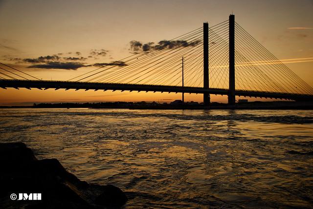 Like water under the bridge....