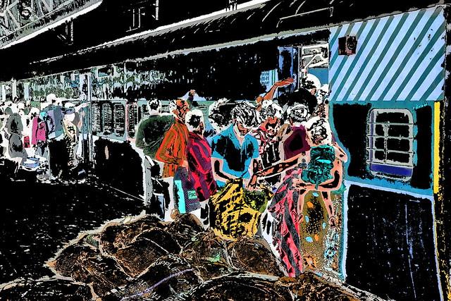 India - Tamil Nadu - Chennai - Egmore Railway Station - Platform - 4ee