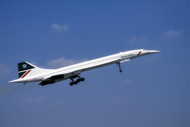 British Airways Concorde G-BOAB Fairford 1996