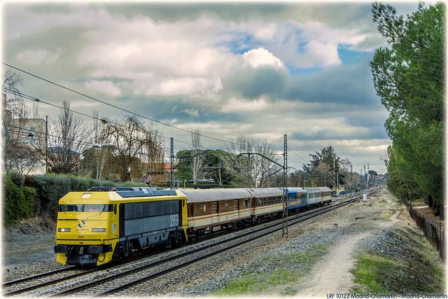 Tren de los 80 en Aravaca