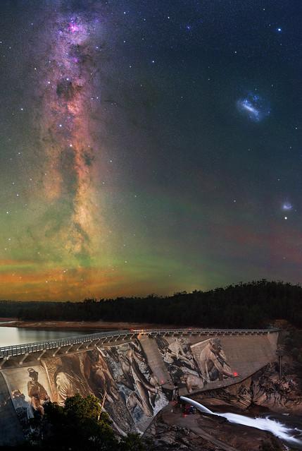 Summer Milky Way at Wellington Dam, Western Australia