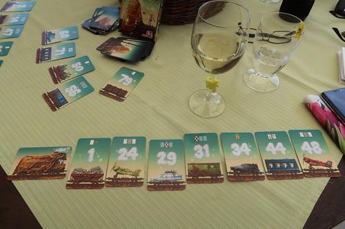 """Weißwein zum Kartenspiel """"Game of Trains"""""""