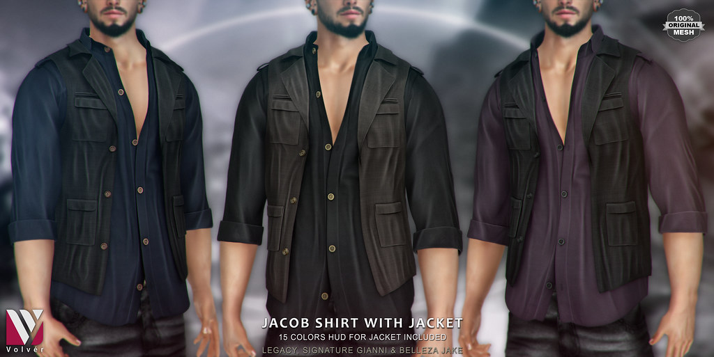 Volver – Jacob Shirt with Jacket