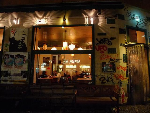 paper lanterns in Berlin