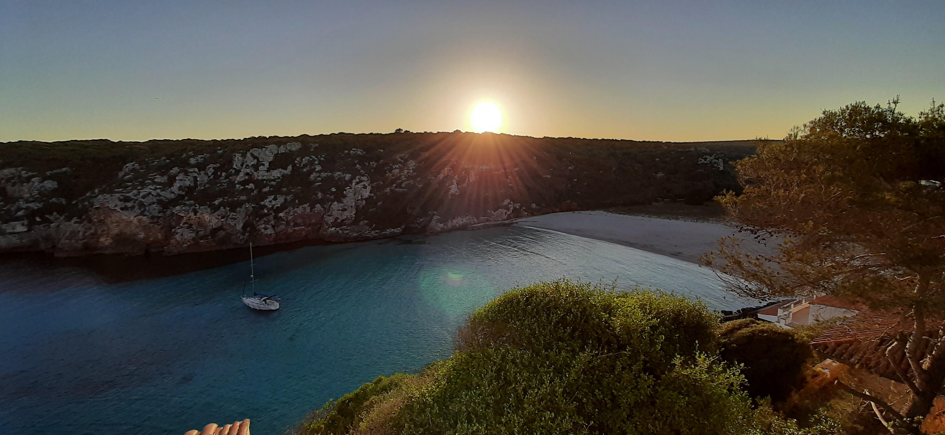 Cala En Porter, Menorca, 4 mayo 2021