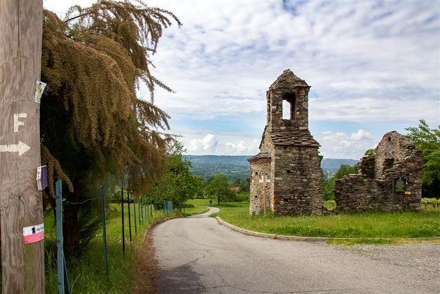 10 Maggio 2020 - Piemonte, Biellese, dal Gesiun al Belvedere di Rolle