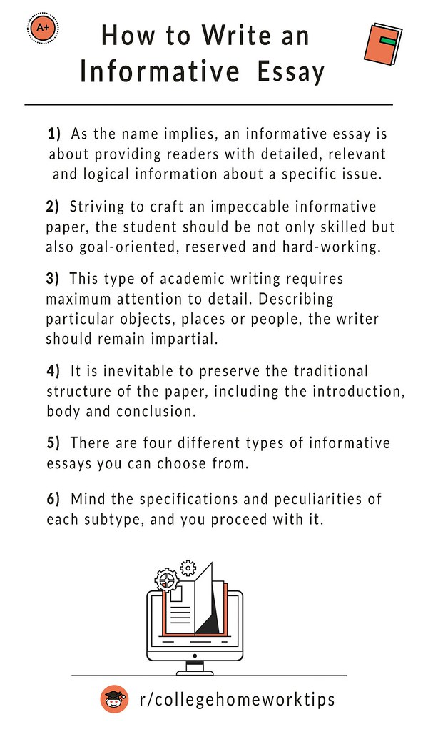 tips on how to write an informative essay