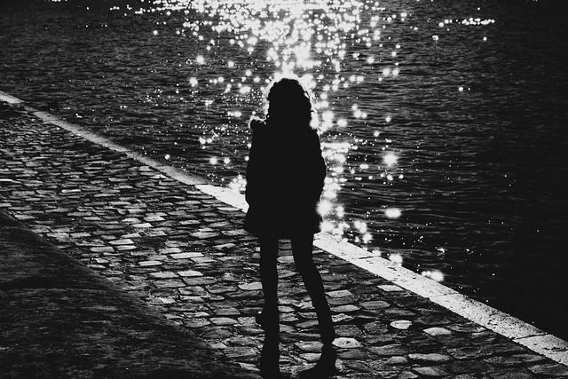 Glittering girl.