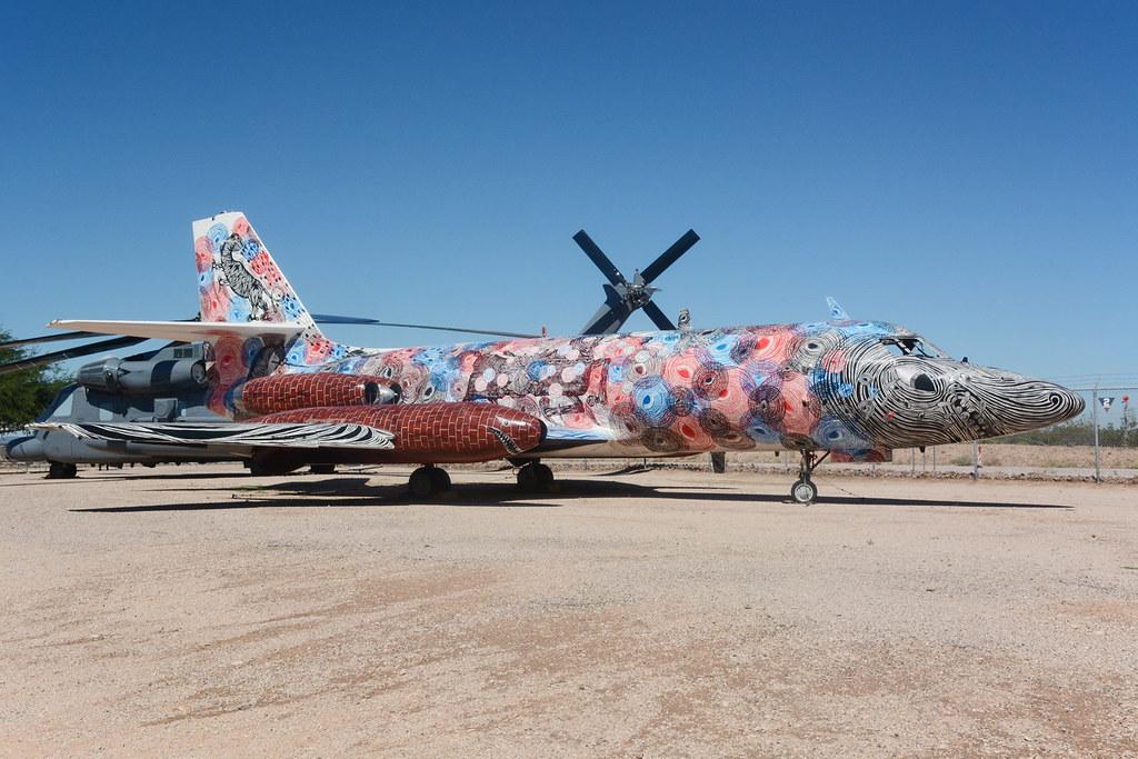 62-4197 Lockheed VC140B Jetstar Pima 23-09-15