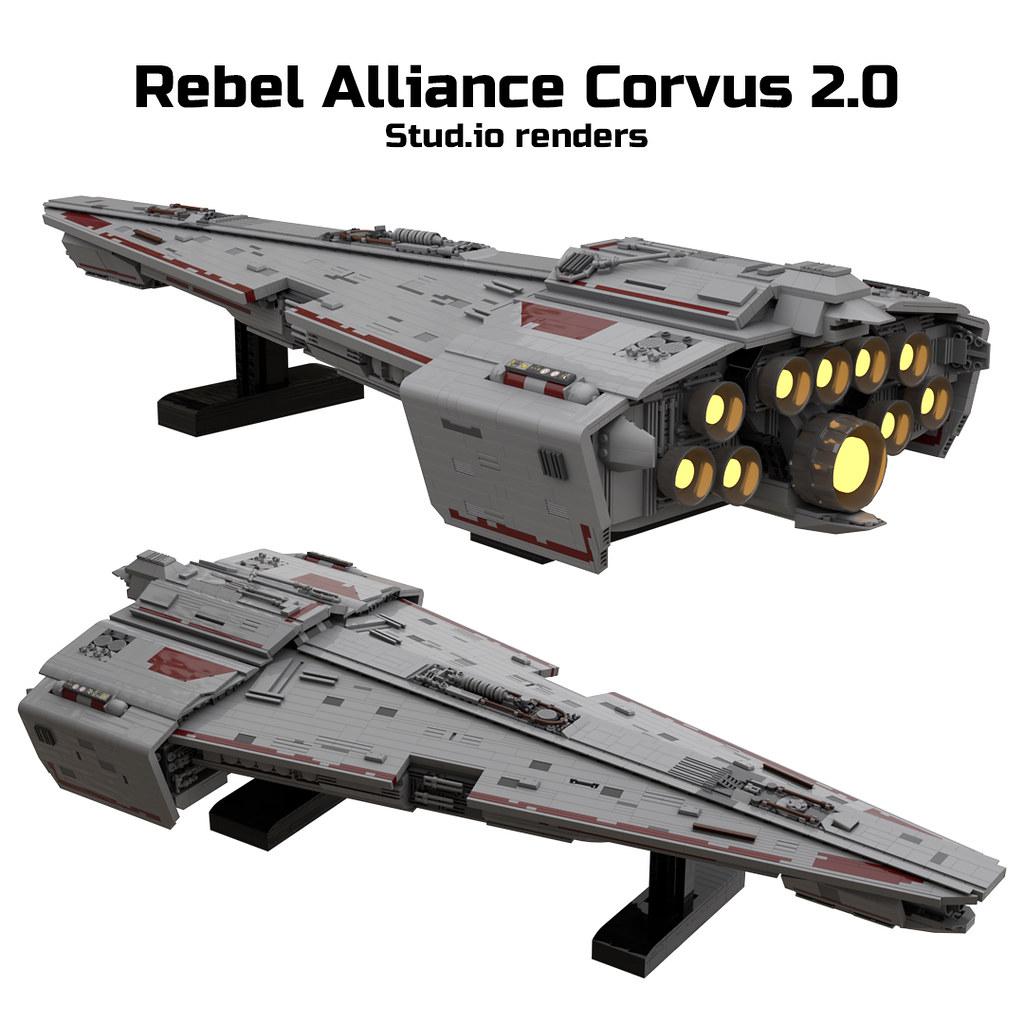 Rebel Alliance Corvus 2.0 renders