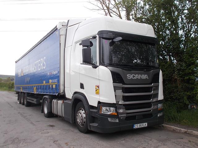 Scania R450 - P&O Ferrymasters