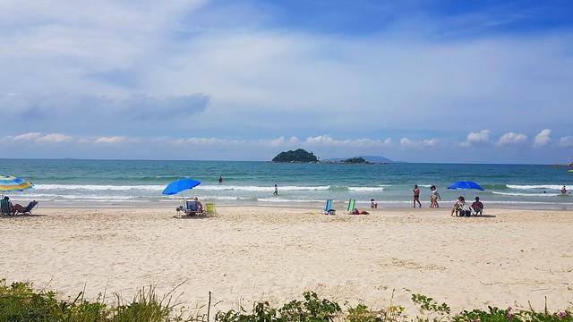Praia de Palmas em Santa Catarina/Brasil