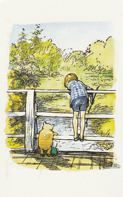 Winnie the Pooh - illustration d'Ernest Howard Shepard