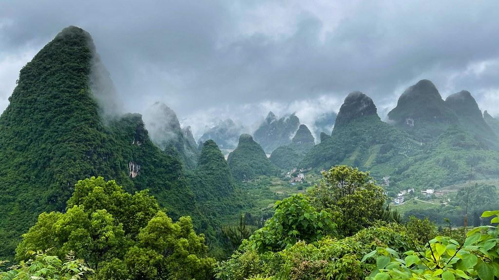 Yangshuo mountains