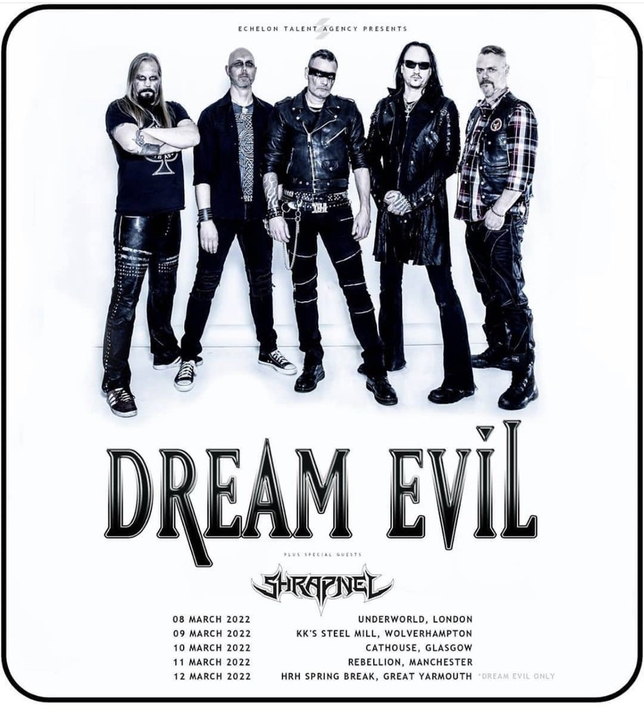 Dream Evil / Shrapnel
