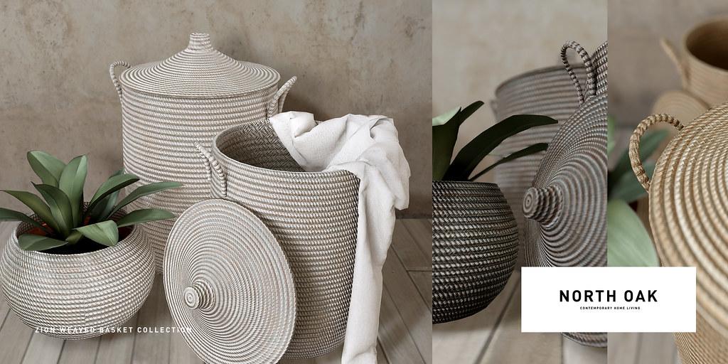 North Oak / Zion Weave Basket Collection