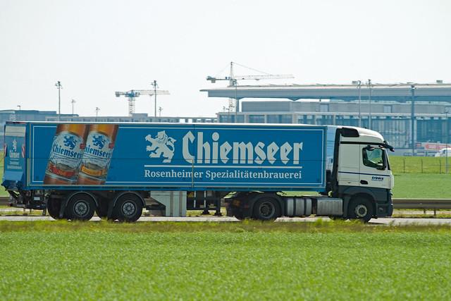 Bierlaster CHIEMSEER in Brandenburg 11.5.2021