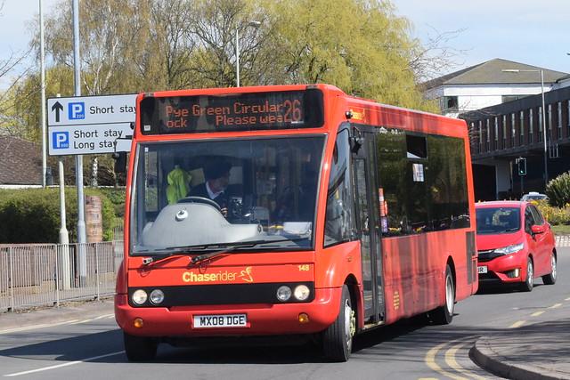 D&G 148 @ Cannock bus station