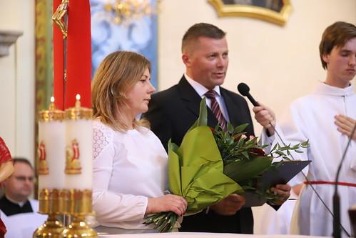 Bierzmowanie parafia św. Marcina w Porębie Żegoty
