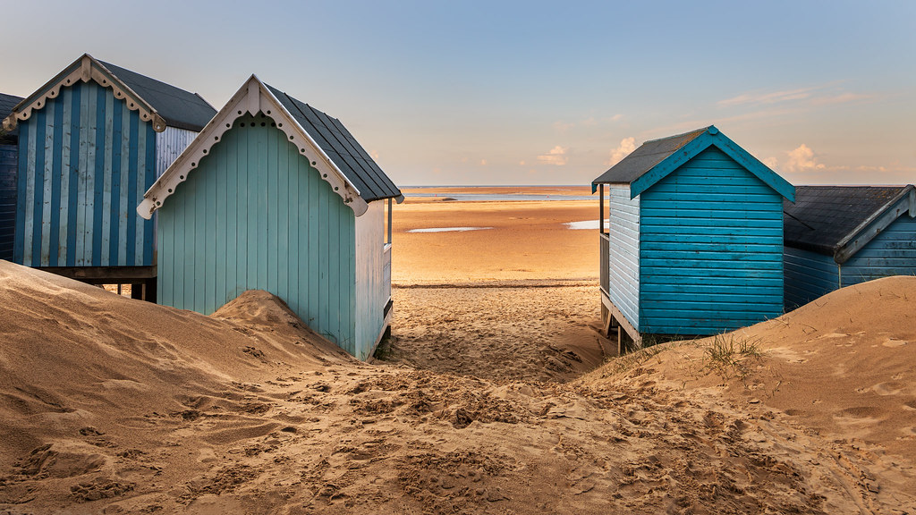 Beach View at Wells-next-the-sea North Norfolk