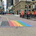 Calgary Downtown Pride Crossing