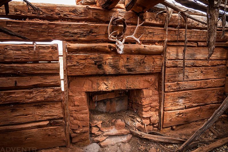Inside Kirk's Cabin