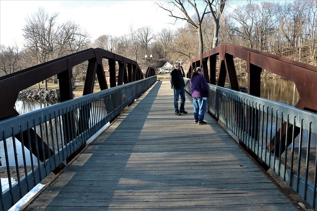 Island Park bridge
