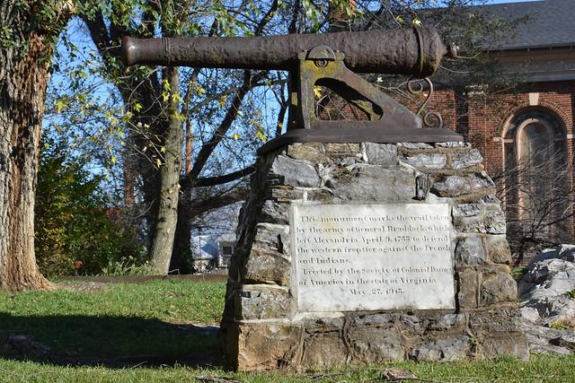 Braddock Cannon Memorial
