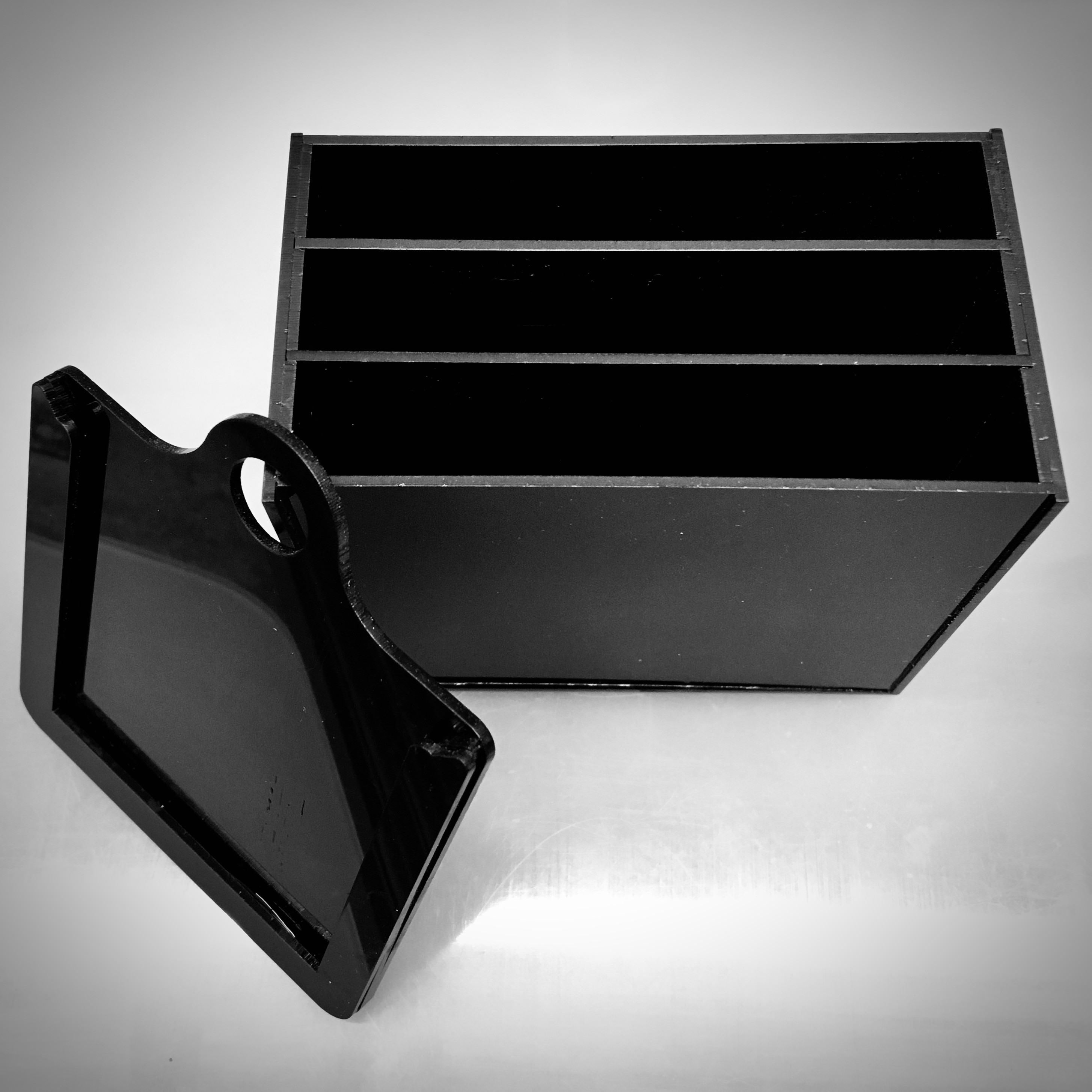 3-Compartment Slot Tank for Paper Negatives