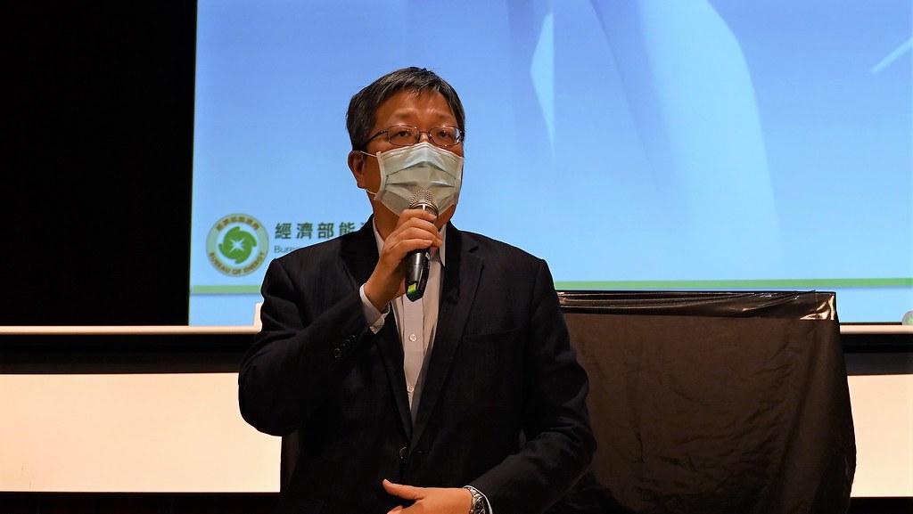 能源局局長游振偉公布2026~2035年,離岸風電將釋出15GW併網容量。孫文臨攝