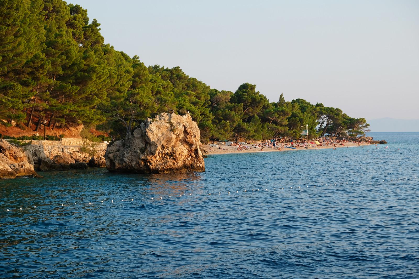 Punta Rata Beach, Brela, Makarska Riviera, Croatia